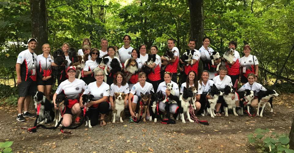2017 EO Agility Team Canada Team Photo